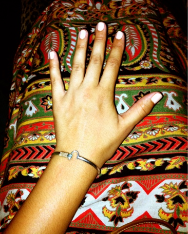 Nope There S No Ring On My Finger But I Am Rocking A Supercool Bracelet Wrist Above Is Crucian Or J Hook
