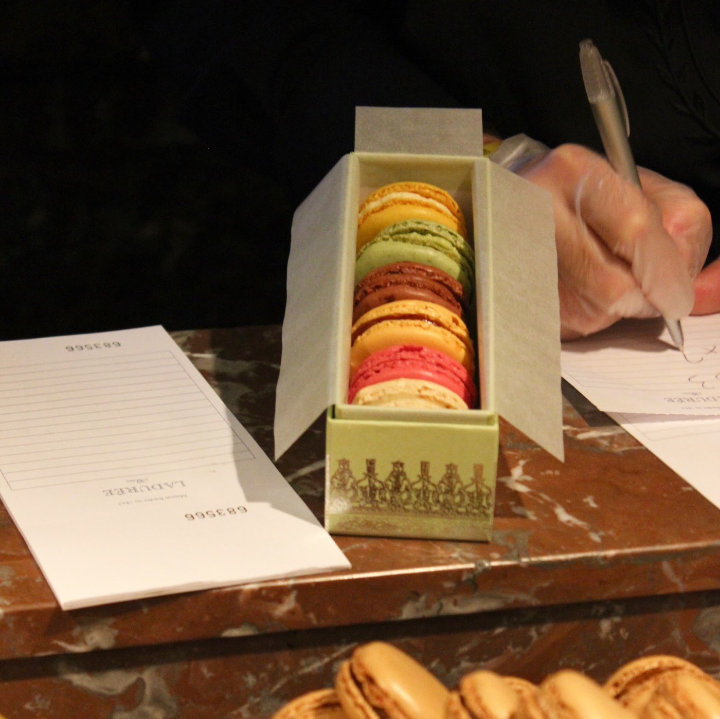 champs elysees laduree macarons paris