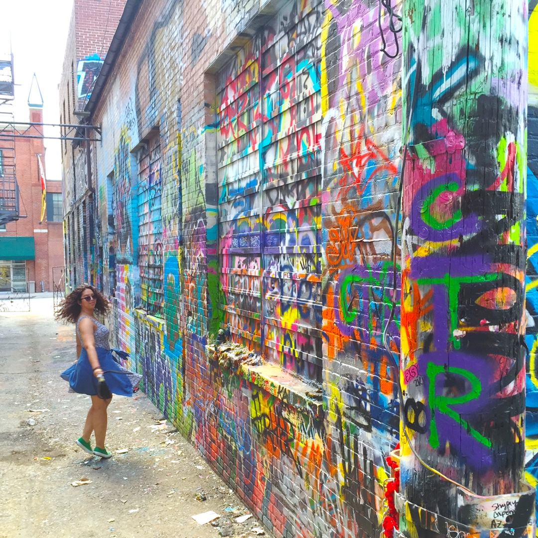 graffiti alley baltimore