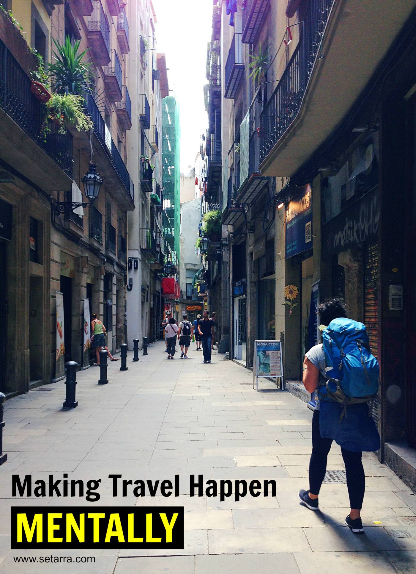 Making Travel Happen Mentally