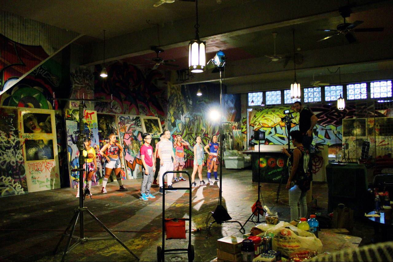 Behind The Scenes of Making A Dance Music Video